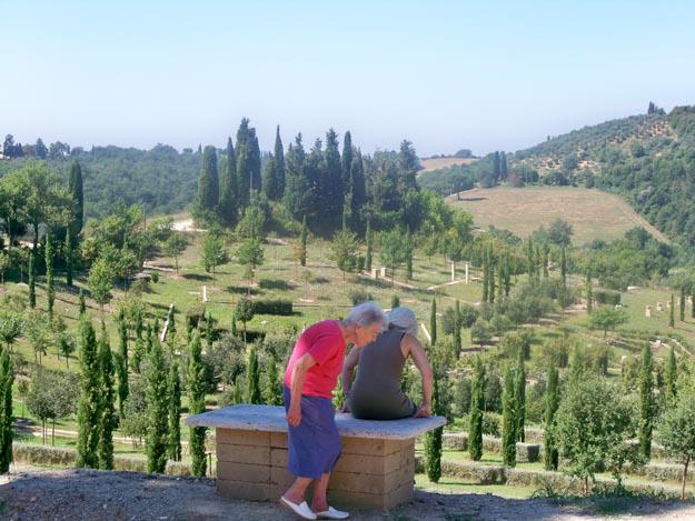 Le plus insolite des jardins de toscane l italie de for Jardin de toscane