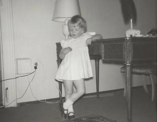 Katharina als Kind in Wien
