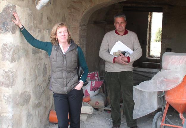 Katharina restoration villa toscane