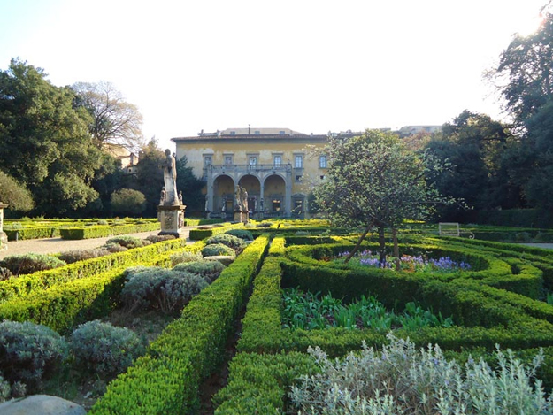 The sumptuous Villa Corsini is usually closed to the public.