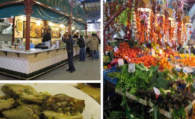Market restaurant Nerbone