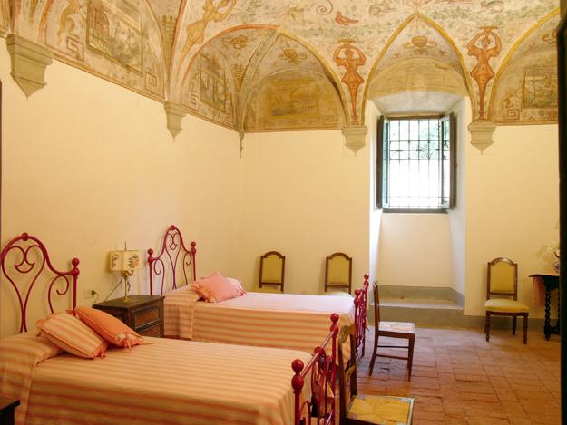 03 - Castello di Galbino chambre fresques