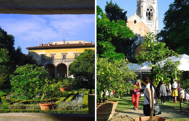 Garten Palazzo Corsini Florenz