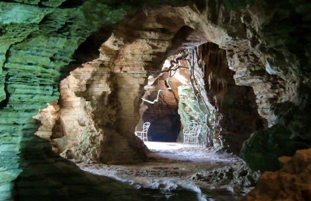 Grotten Frassanelle Venetien