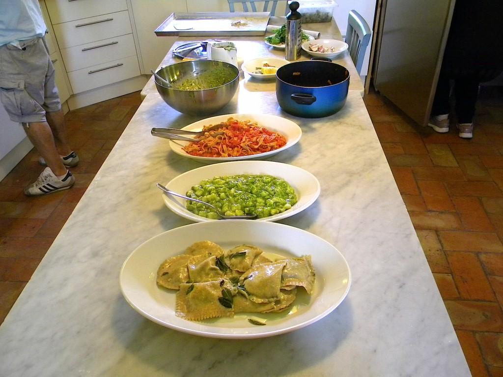cours de cuisine italie