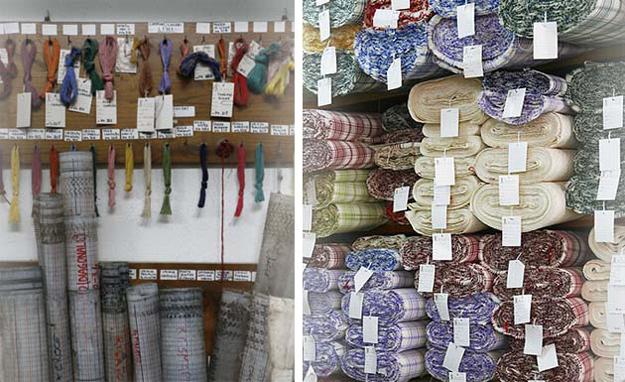 A l'intérieur des ateliers Busatti. Vous aurez envie de tout acheter !