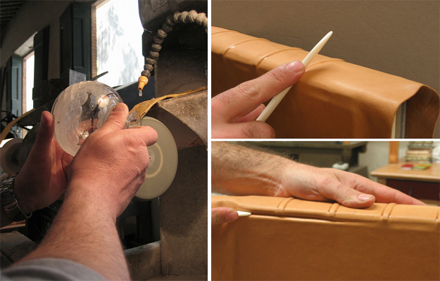 Which one are you more inclined to: glasscutting or bookbinding?