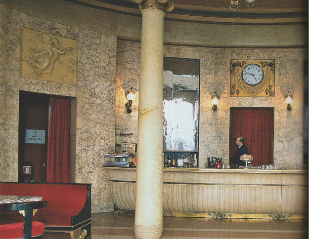 Cafe Pedrocchi Padua, sala rossa