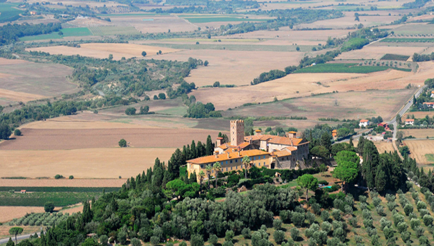 toscane chateau de Marsiliana