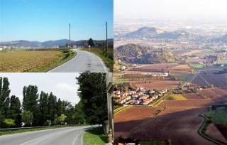 Wohin jetzt ?  Das Veneto ist ein einziger Strassen-Wirrwarr.