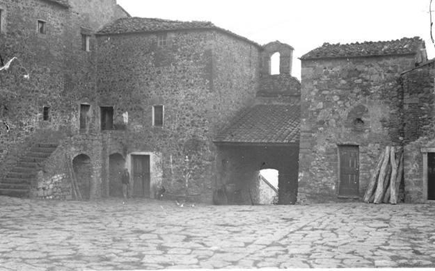 Chiarentana auf La Foce vor der Restaurierung