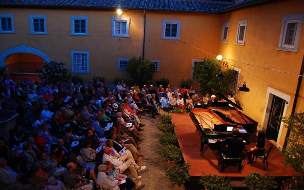 Konzert auf La Foce Toskana