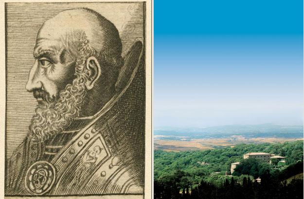 In Vivo d'Orcia ist die Erinnerung an Papst Marcello II noch immer lebendig.