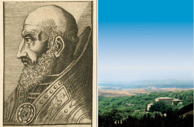 Vivo d'Orcia has kept a vivid image of Marcello II in its heart.