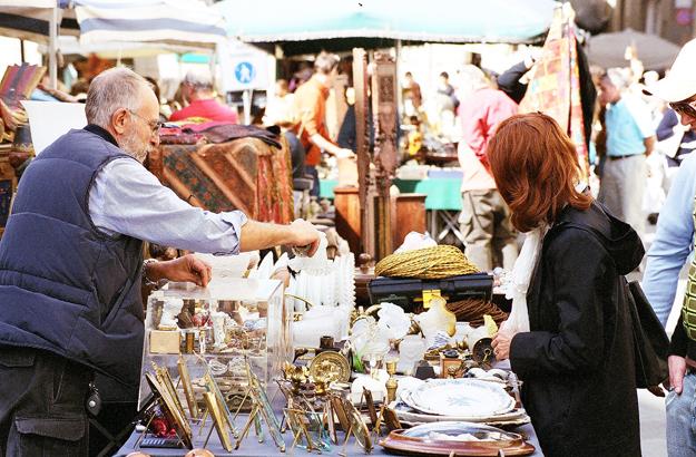 Arezzo flea market