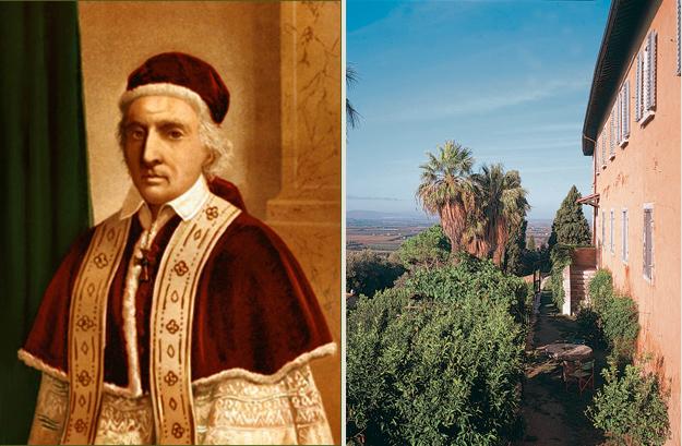 Clemens XII breitet über dem Gut Masiliana seinen Segen aus…