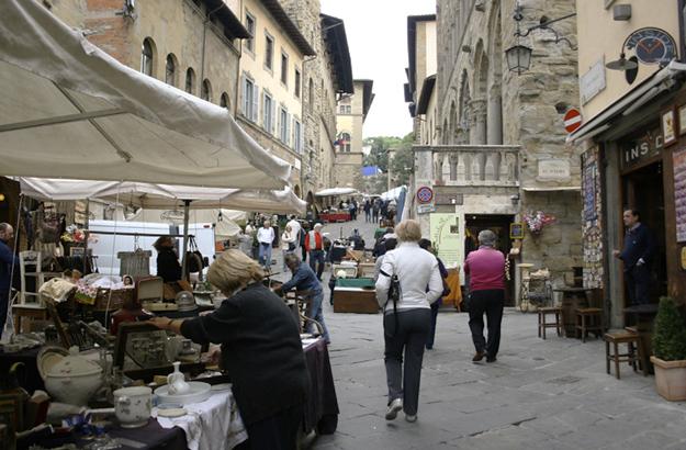 Gassen und Strassen von Arezzo