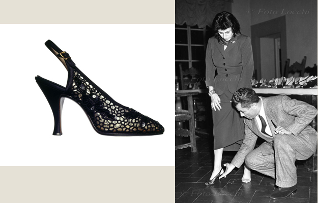 Anna Magnani and Ferragamo