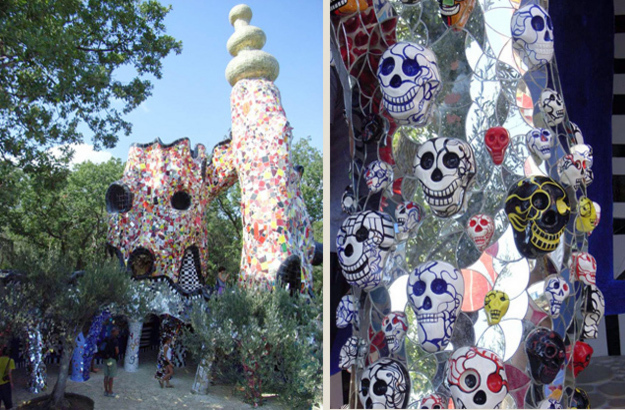 A Flight Of Fancy In Tuscany Niki De Saint Phalle S Tarot Garden Katharina 39 S Italy