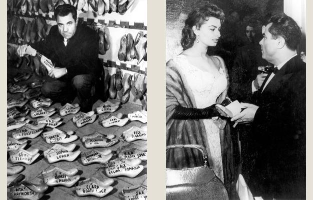 Ferragamo and Sofia Loren