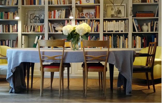 Gio Ponti dining room chairs