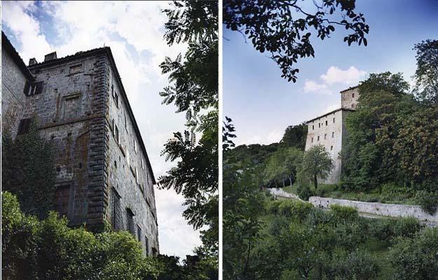 Palazzo Cervini Vivo d'Orcia