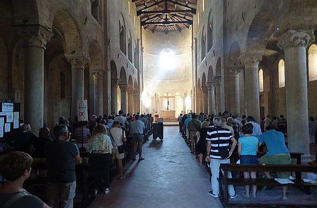 Mass has begun