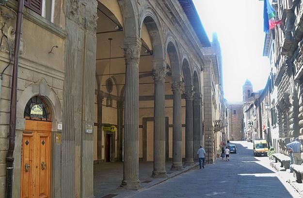 Main street Monte San Savino