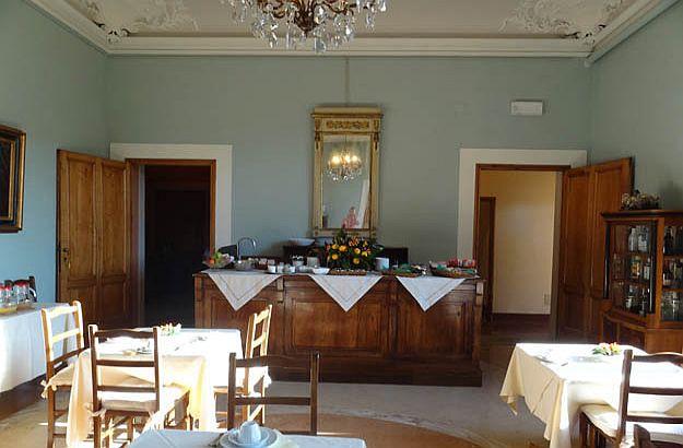 Frühstückszimmer Palazzo Guadagni