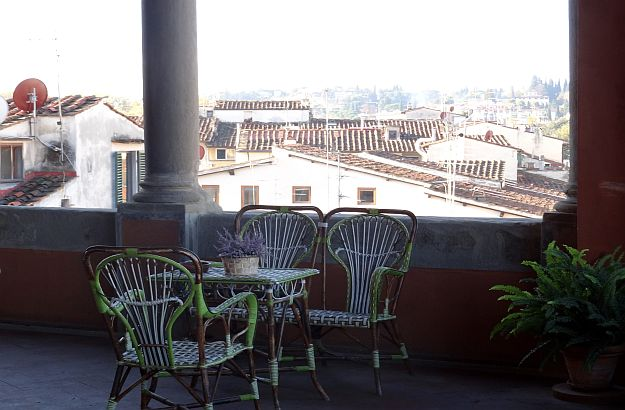 loggia hotel Florenz