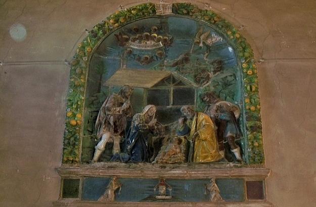 Nativity Luca della Robbia the Younger