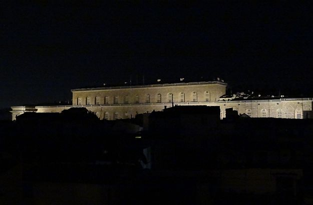 View from my room at night - Palazzo Pitti