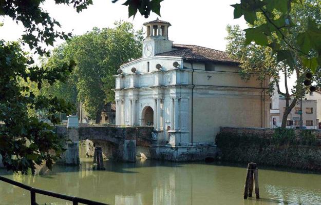 Porta Portello Padua where the tour begins