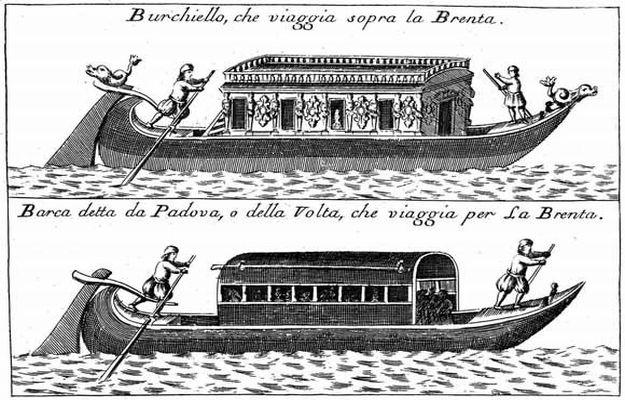 Burchiello Boat 1711