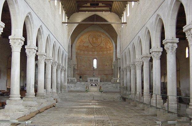 Aquileia Basilica Interiors