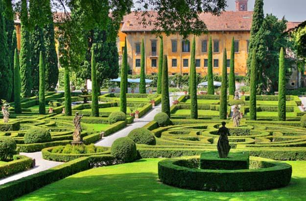 Jardins Giusti Verone