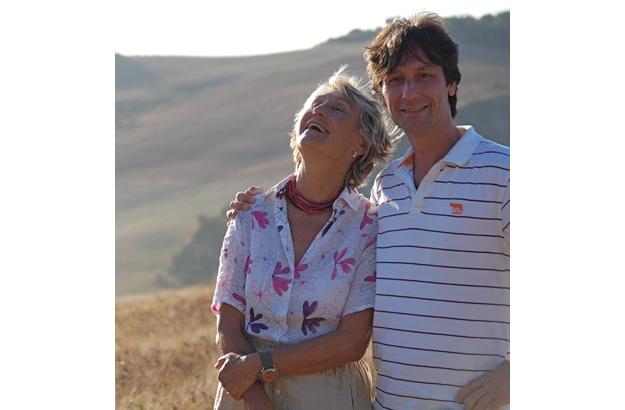 Die Gründer des Festivals: Benedetta Origo und ihr Sohn, Antonio Lysy.