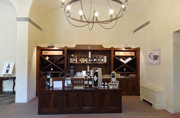 The Wine Shop at Castello di Bolgheri