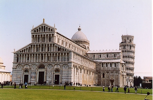 Pisa marks the northern tip of this coast