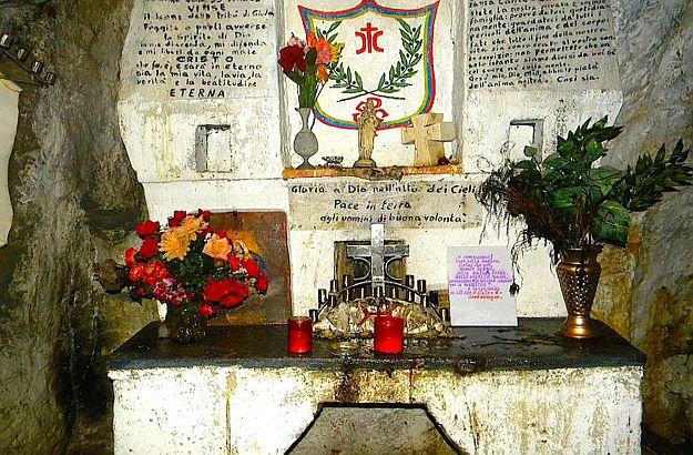 Altar of Davide Lazzaretti on the Monte Amiata in Tuscany