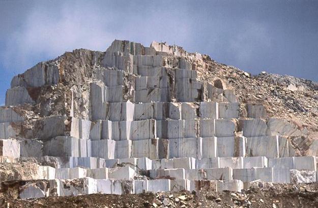 Carrière de marbre