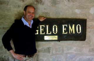 Mein guter alter Freund GIORDANO EMO CAPODILISTA, Herr im Landgut Montecchia.