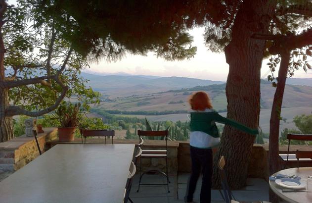 Terrasse Casale Pienza