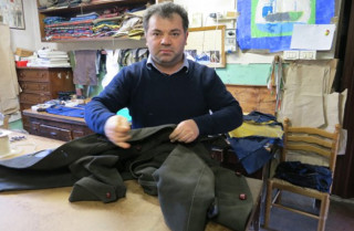 Originally from Romania, Florin is now a renowned Italian tailor.