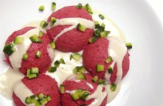 Rote Beete-Gnocci: Erlesen köstlich.