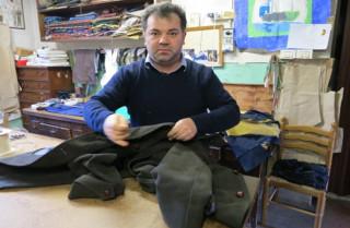 Florin kommt aus Rumänien, heute ist er ein berühmter italienischer Schneider.