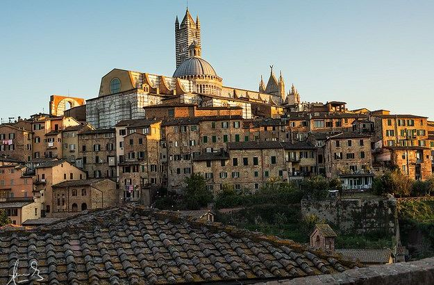 Nicknamed the Gothic City, Siena is a must when travelling in Tuscany.  ©Sacha Fernandez