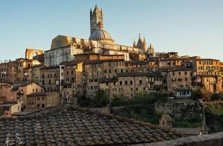 Siena wird die Gotische Stadt genannt: ein Muss bei jeder Toskana-Reise.  ©Sacha Fernandez