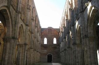 San Galgano abbaye Toscane 149
