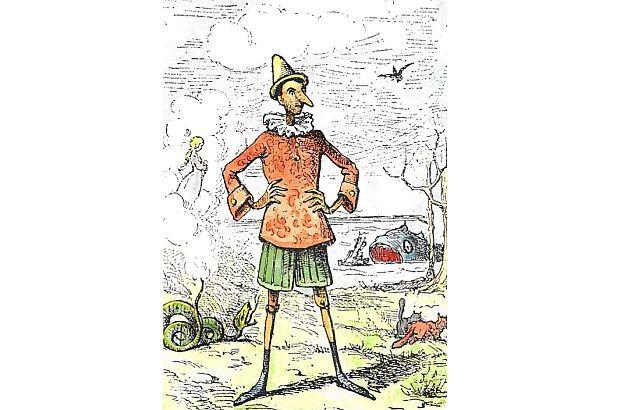 Italiener berührt man besser nicht am Kinn oder an der Nase – noch nicht einmal zärtlich…. ©Wikipedia